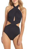 LaBlanca Women's La Blanca Island Goddess Halter One-Piece Swimsuit