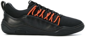 Lanvin Contrast Lace Up Sneakers