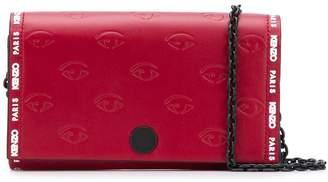Kenzo Blink Eye chain wallet