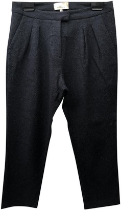 Studio Nicholson Blue Cloth Trousers for Women