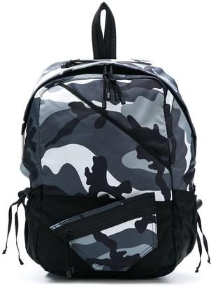 Valentino camouflage rucksack