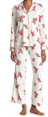 Shimera Brushed Long Sleeve Shirt & Pants 2-Piece Pajama Set