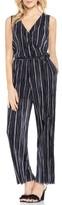 Vince Camuto Women's Stripe Pleat Knit Jumpsuit