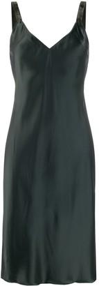 Helmut Lang V-neck slip dress