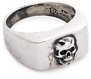 Degs & Sal Sterling Silver Skull Ring