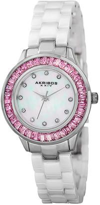 Akribos XXIV Women's Ceramic Watcht