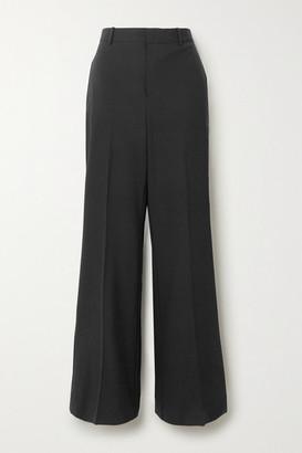 BITE Studios + Net Sustain Organic Wool-blend Straight-leg Pants - Black