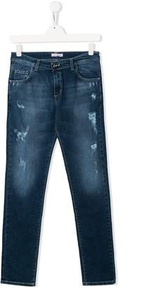 Miss Blumarine Straight-Leg Jeans