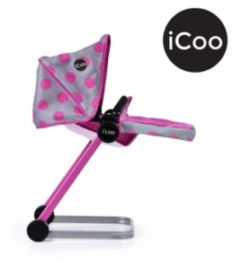 I'coo Grow With Me Doll Playset Stroller Bassinet And High Chair