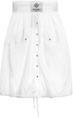 Mr & Mrs Italy Light Crepe Nylon Skirt For Woman