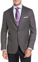 David Donahue Men's Aiden Classic Fit Wool Blazer
