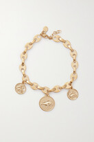 Thumbnail for your product : Paco Rabanne Eight Nano Gold-plated Anklet - one size