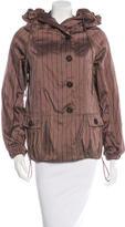 Etro Striped Lightweight Jacket