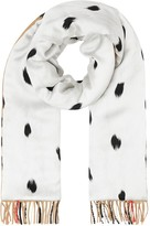 Burberry Dalmatian print and Classic Check scarf