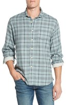 Grayers 'Chartley' Trim Fit Plaid Double Woven Sport Shirt