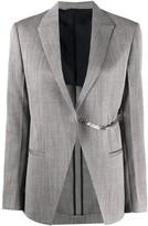 Alyx striped chain-embellished blazer