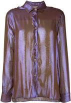 Christopher Kane buttoned shirt - women - Silk/Polyester - 38