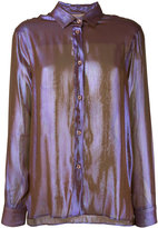 Christopher Kane buttoned shirt - women - Silk/Polyester - 42