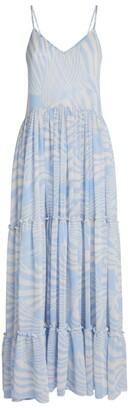 MISA Kalita Maxi Dress