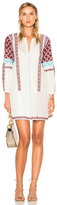 Ulla Johnson Yelena Dress in Abstract,White.