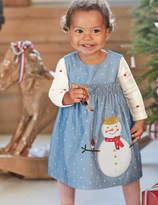 Boden Fairytale Appliqué Dress