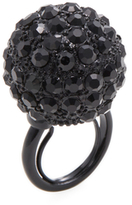 Kenneth Jay Lane Pave Disco Ball Statement Ring