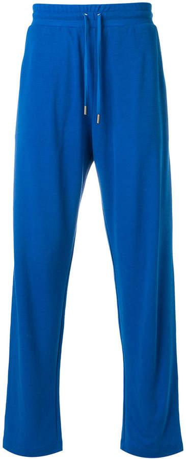 Canali elasticated waist trousers