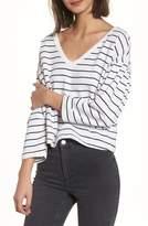 BP Drop Shoulder Stripe Sweater