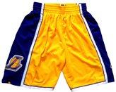 SnoKKe Men's Basketball Shorts Yellow M
