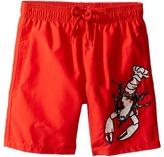 Vilebrequin Kids - Lobster Embroidery Swim Trunk Boy's Swimwear
