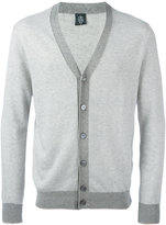 Eleventy contrast cardigan - men - Cotton - M