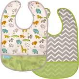 Kushies Baby B1173-2 Clean Bib Waterproof-Bib
