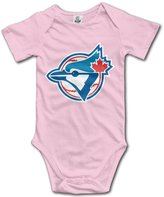 Enlove Toronto Blue Jays BABY Cute Short Sleeves Variety Baby Onesies Bodysuit For Toddler