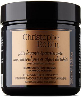 Christophe Robin Rassoul Clay and Tahitian Algae Thickening Shampoo Paste, 250 mL