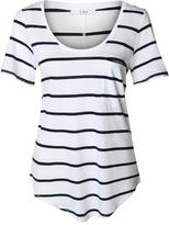 Dex Nautical Stripe Tee