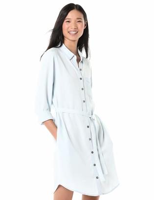 Goodthreads Tencel Long-Sleeve Shirt Dress Casual