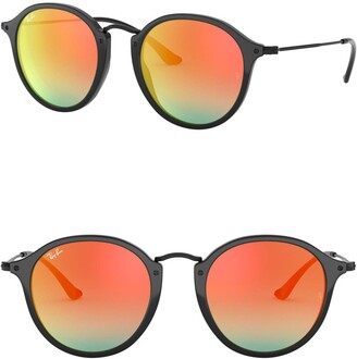Ray-Ban Phantos Icons 49mm Round Sunglasses