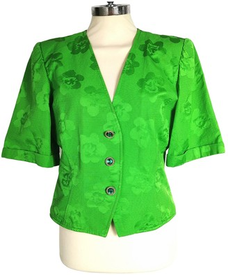 Ungaro Green Cotton Jackets