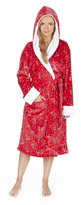FOREVER DREAMING Ladies Flannel Fleece Christmas Robe