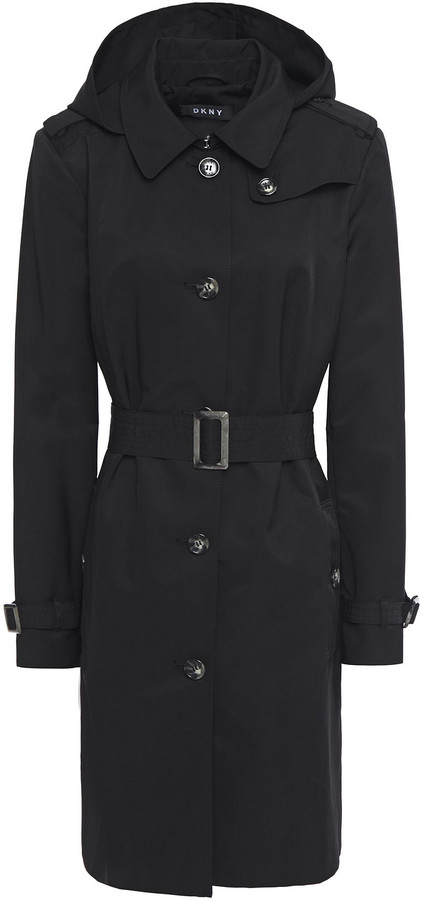 DKNY Shell Trench Coat