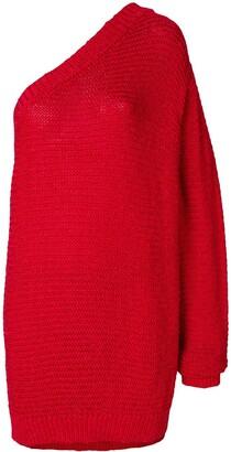 Stella McCartney One-Shoulder Knitted Jumper