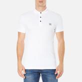 BOSS ORANGE Men's Pavlik Polo Shirt White