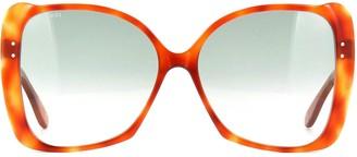 Gucci Gg0471s Havana Sunglasses