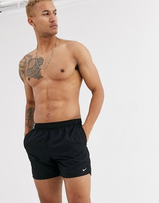 Nike Swimming super short volley swim shorts in black