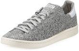 adidas Men's Stan Smith Wool Primeknit Sneaker, Gray/White