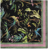 Gucci Tropical print silk scarf