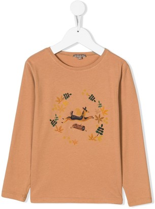 Emile et Ida Deer print T-shirt
