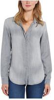 Bella Dahl Women's Long-Sleeve Button Back Shirt