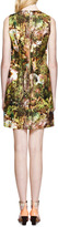 Carven Printed Cotton-Crepe Shift Dress