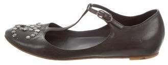 Chanel CC Leather Flats